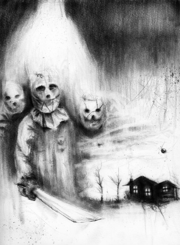 2 - Full Moon Guests - Nightmare Soup inspired by Scary Stories to Tell in the Dark's Stephen Gammell