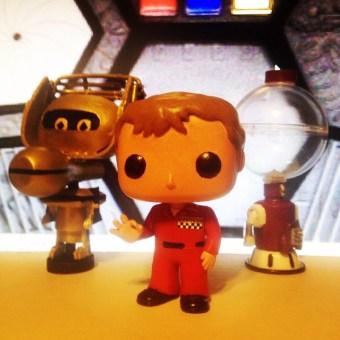 Joel Robinson, Tom Servo and Crow T Robot - MST3K Funko Pop Vinyl - Joel Hodgson on Mystery Science Theater 3000