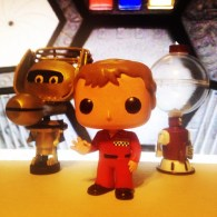 Joel Robinson, Tom Servo and Crow T Robot - MST3K Funko Pop Vinyl - Joel Hodgson on Mystery Science Theater 3000