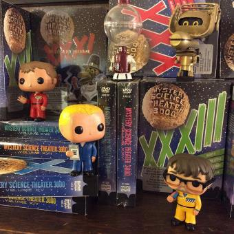 MST3K Funko Pop Vinyl Figures and DVDs - Mystery Science Theater 3000