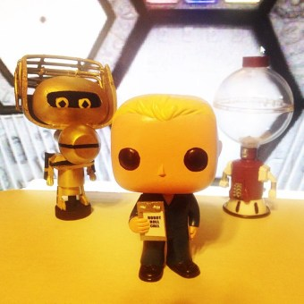 Mike Nelson, Tom Servo and Crow T Robot - MST3K Funko Pop Vinyl - Mystery Science Theater 3000