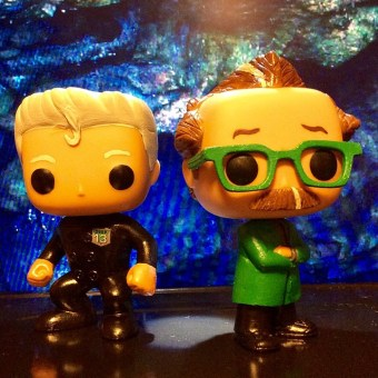 The Mads - Dr Forrester and TVs Frank MST3K Funko Pop Vinyl - Trace Beaulieu and Frank Conniff on Mystery Science Theater 3000