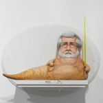 George Lucas Jabba the Hutt by Mike Leavitt