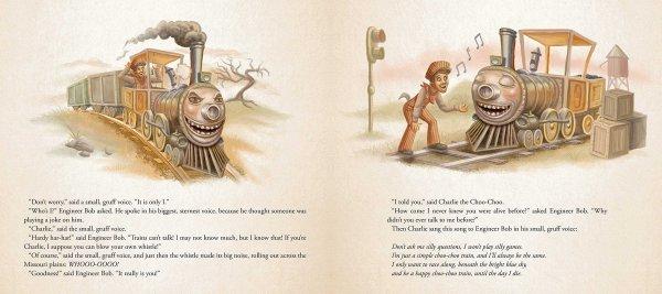 Charlie the Choo-Choo Dark Tower Children's Book by Stephen King (2)