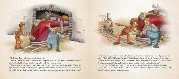 Charlie the Choo-Choo Dark Tower Children's Book by Stephen King (4)