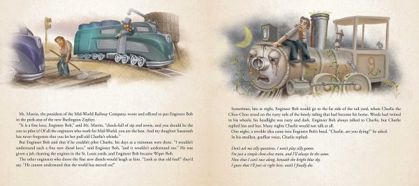 Charlie the Choo-Choo Dark Tower Children's Book by Stephen King (6)