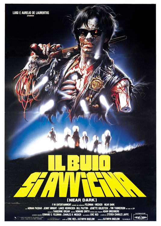 Near Dark (1987) Italian Poster with Bill Paxton