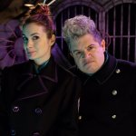 Felicia Day And Patton Oswalt as Kinga Forrester and TV's Son of TV's Frank In MST3K Reboot