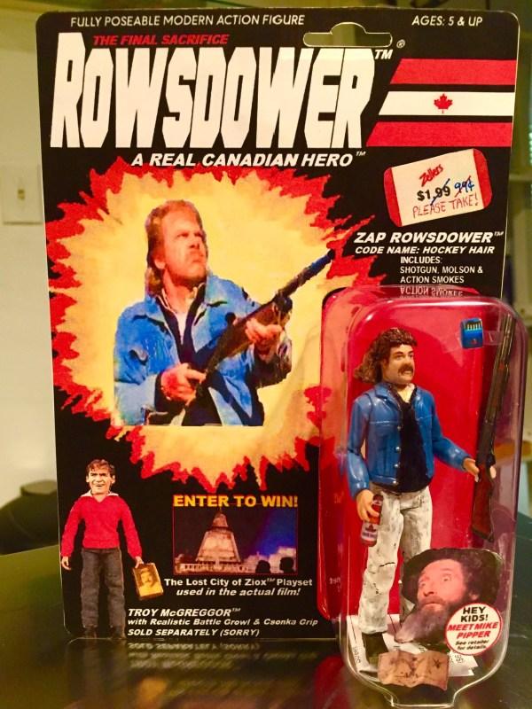 Zap Rowsdower Action Figure - Custom G.I. Joe in Box