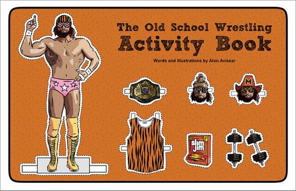 Old School Wrestling Activity Book Macho Man