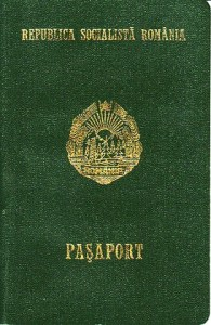 Old Romanian Passport - Wikipedia