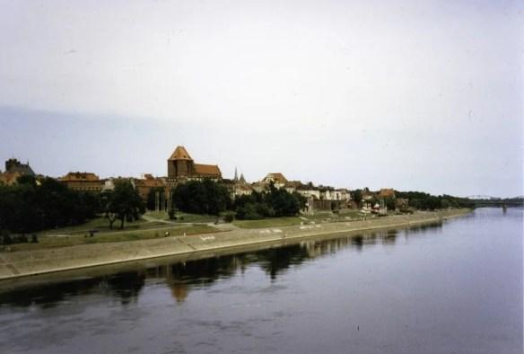 Toruń Skyline on the Shores of the Vistula (Wisła)