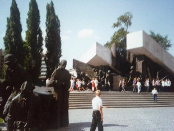 Warsaw Uprising Monument, Krasinski Square, Warsaw, Poland – Isla McKetta's Photo Collection