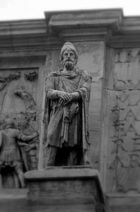 Dacian Warrior on the Arch of Constantine in Rome