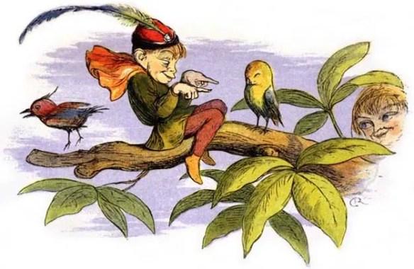 Poor little birdie teased, by Victorian era illustrator Richard Doyle – Wikipedia