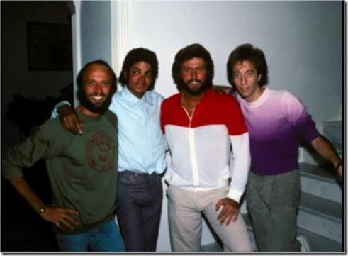 "Barry Gibb & Michael Jackson - The Completed, Full Length Duet ""All In Your Name."""