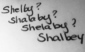 Shelby? Shalaby? Shelaby? Shalbey?