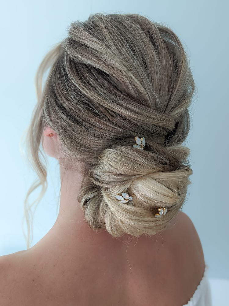 wedding hair trial