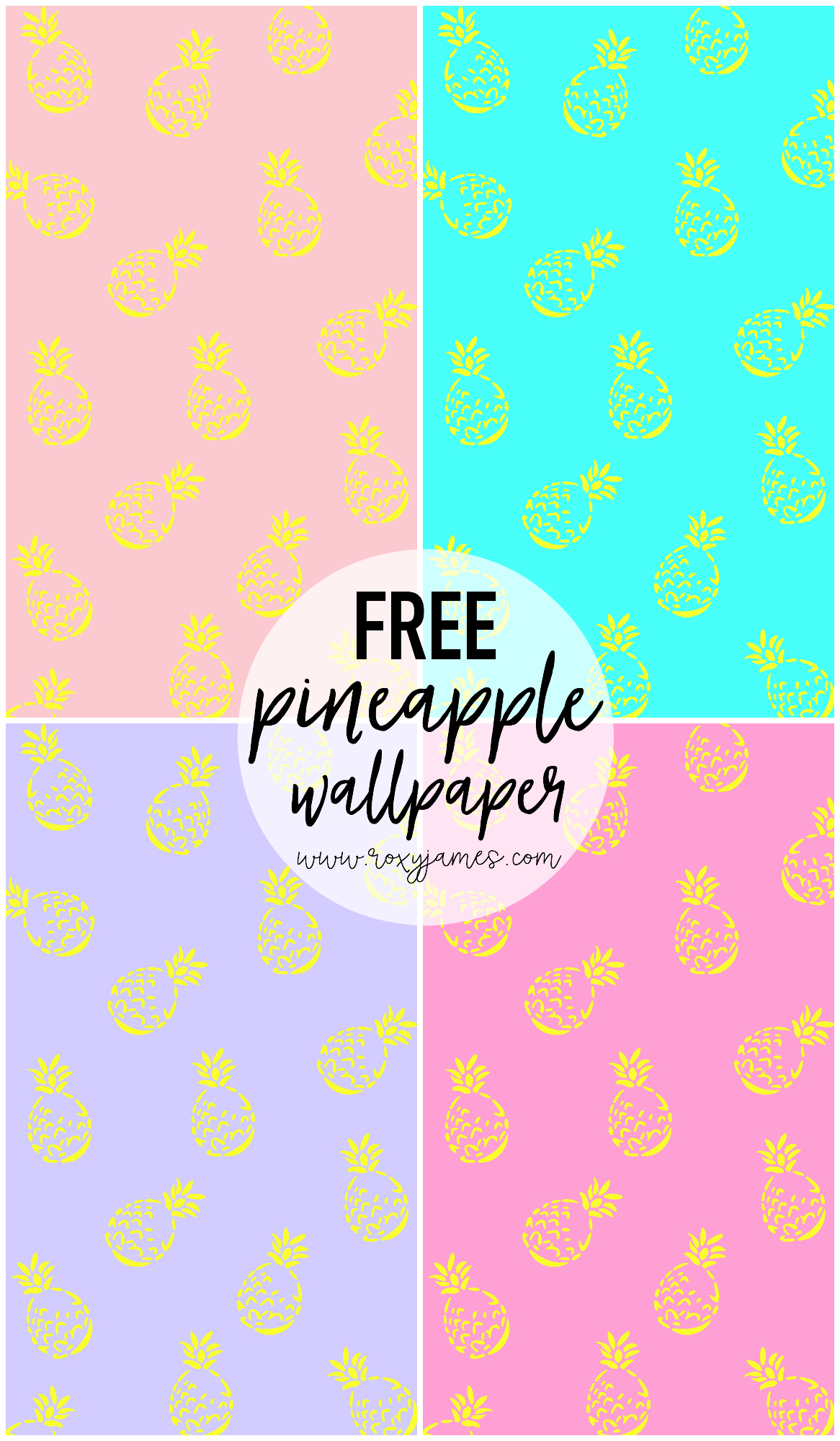 FREE Pineapple Wallpaper