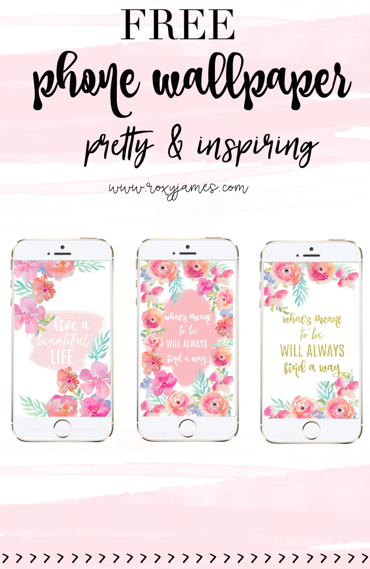 free pretty phone wallpaper