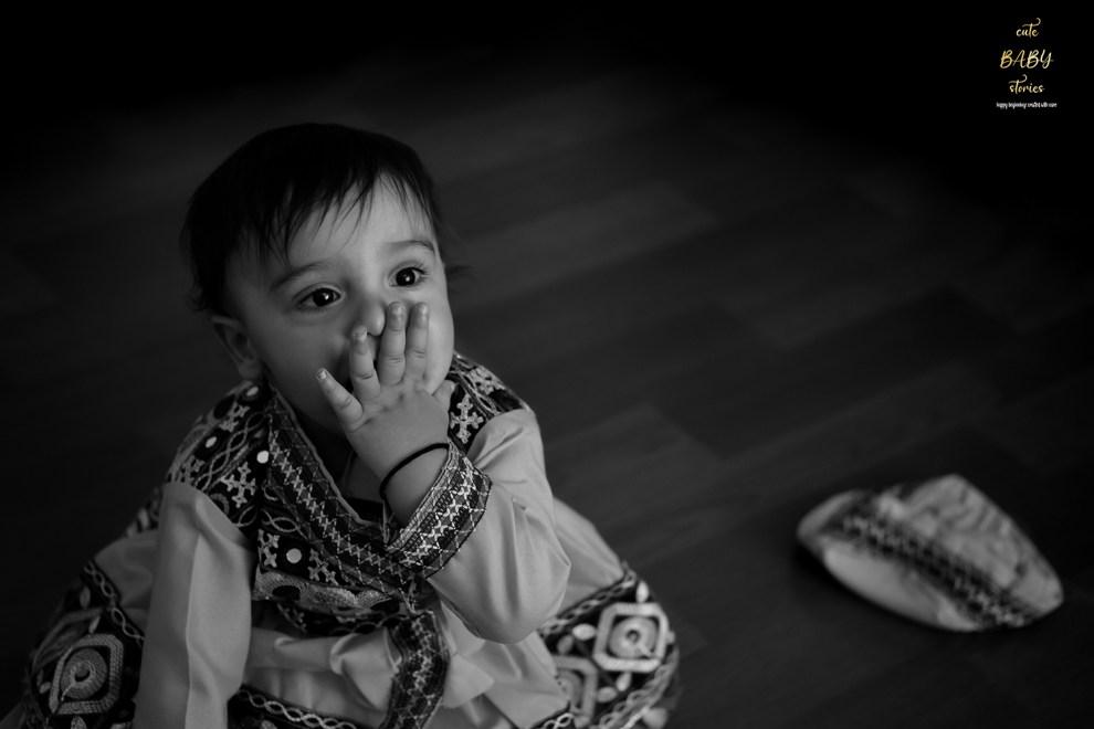 Babyshoot of Yuvaan