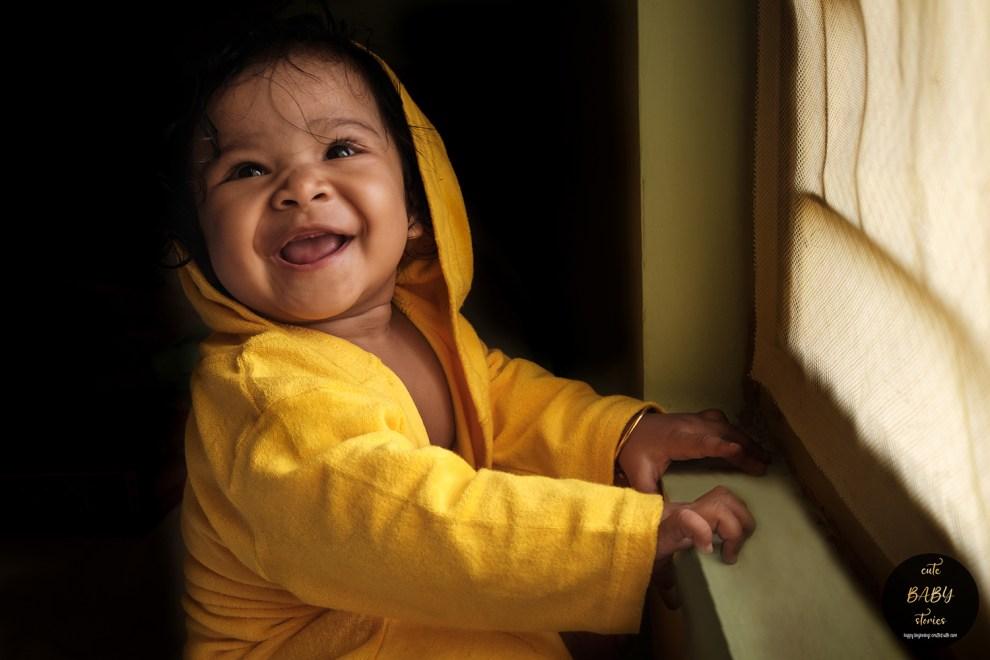 Babyshoot of Aarjoyee: Baby Photography in Mejia, Bankura