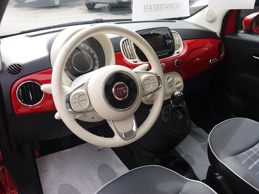 Fiat 500 1.2 69 cv Lounge (7)