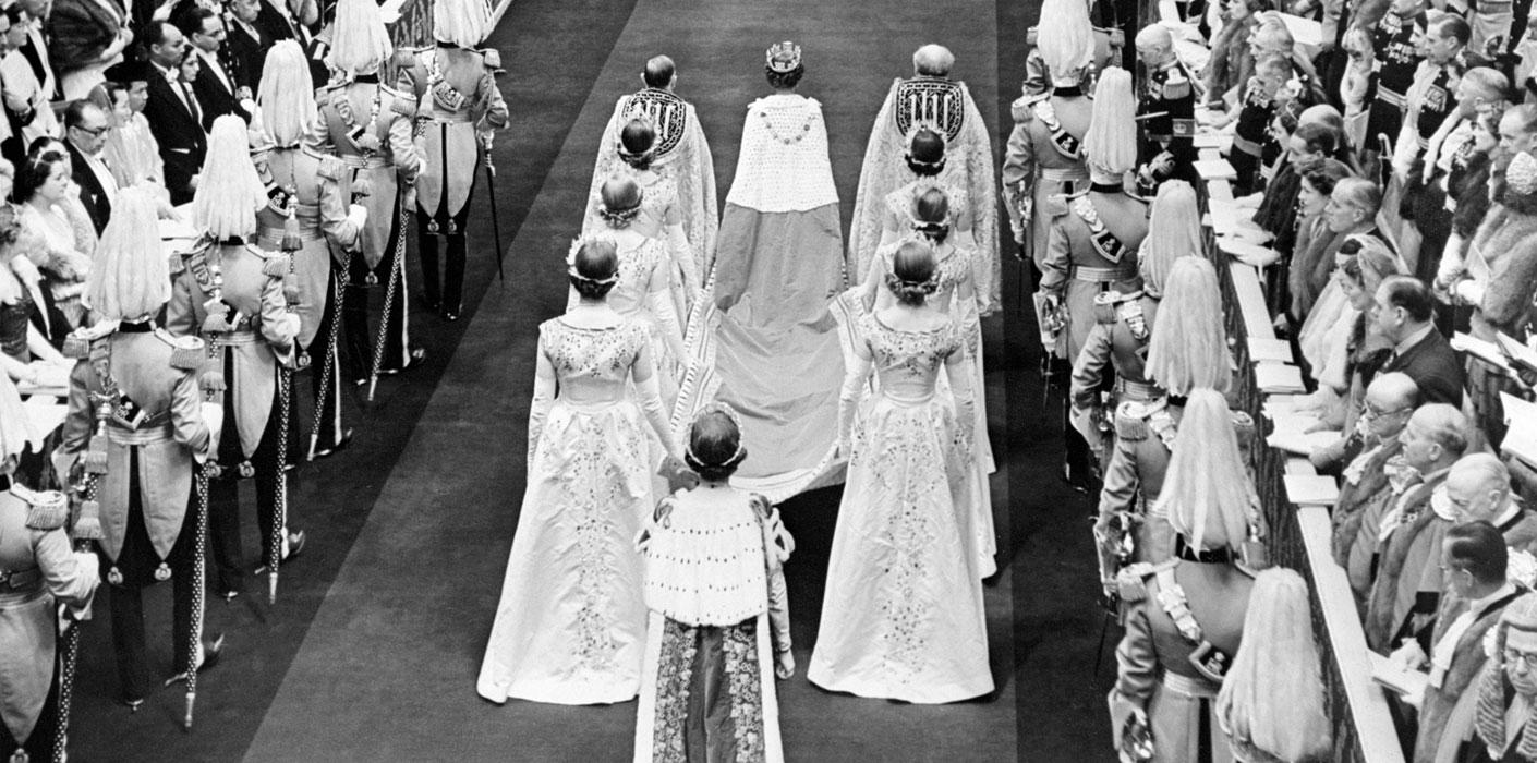 Queen Elizabeth II Coronation Procession