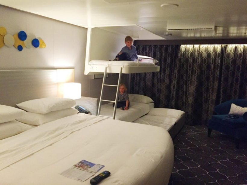 Royal Caribbean Stateroom With Sofa Bed