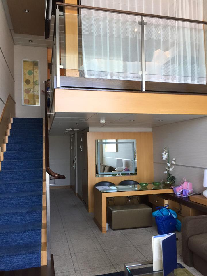 Photo Tour Of Loft Suite On Royal Caribbeans Oasis Of The