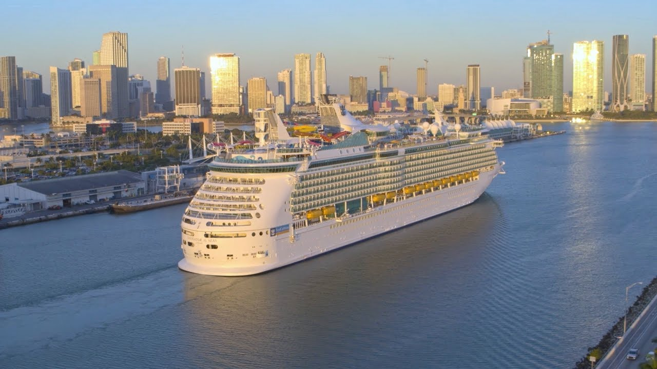 Video Amped Up Navigator Of The Seas Arrives In Homeport