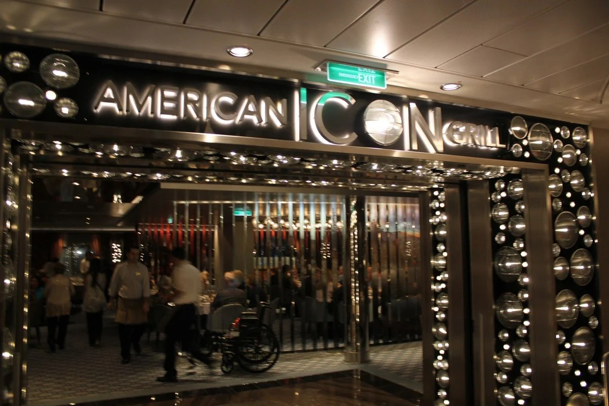Restaurant Review American Icon Grill On Quantum Of The