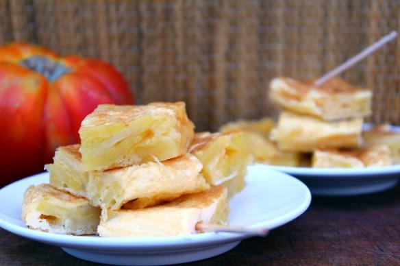 omelette pommes de terre