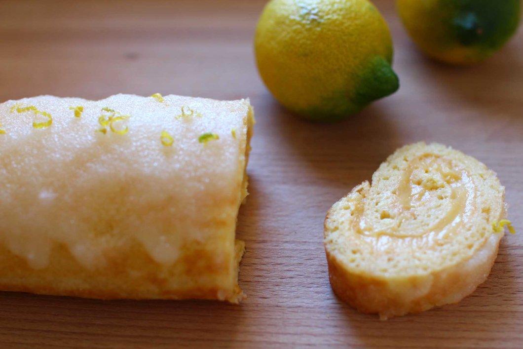 roulade citron ou mandarine