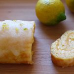 Roulade au citron
