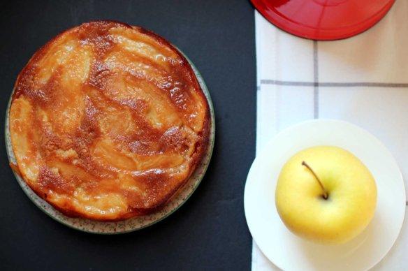 gateau renverse pommes
