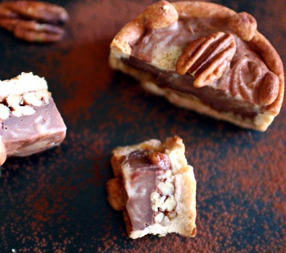 tarte barre chocolatee noix recadree