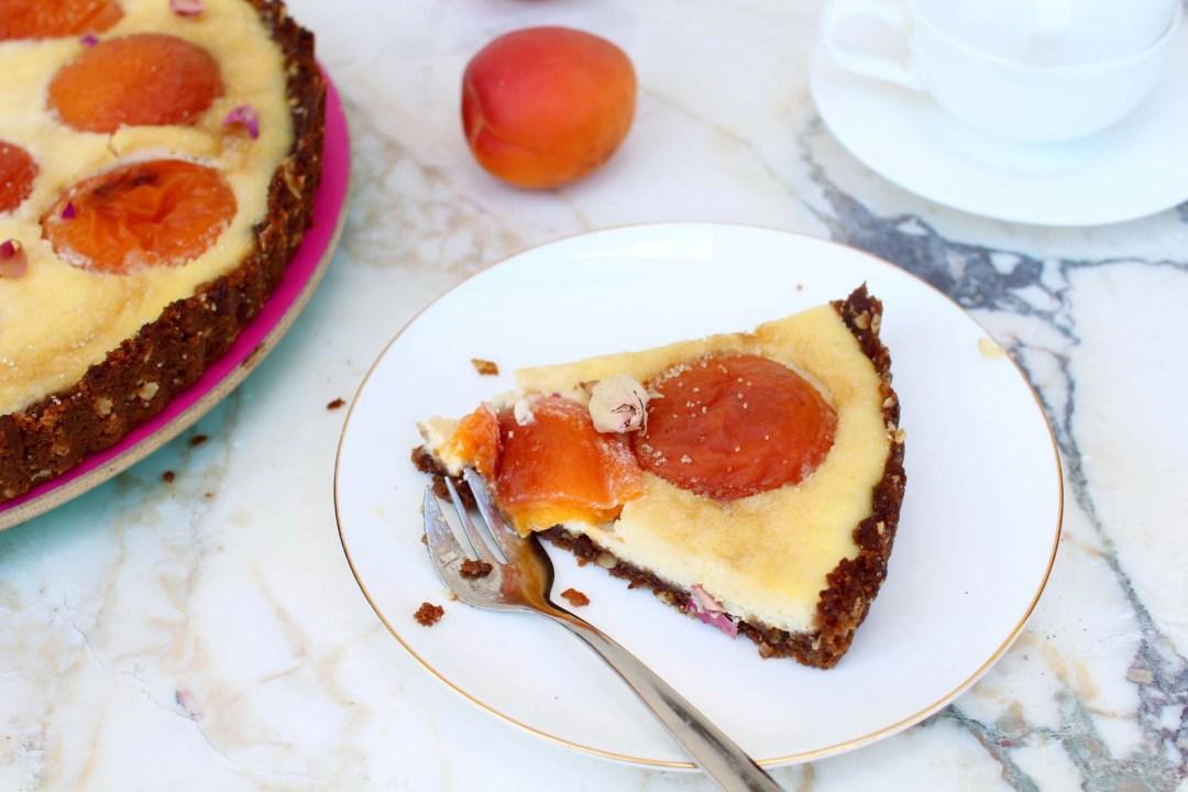 tarte cheesecake part