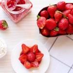 Sablés bretons tout simples aux fraises