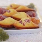 Madeleines aux pâtes de fruits