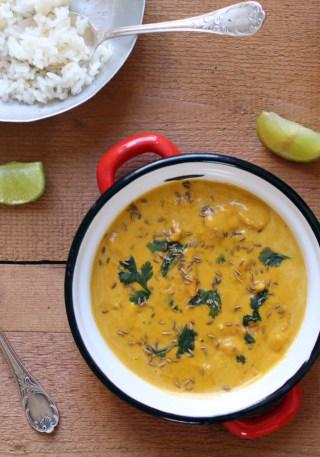 curry potiron coco