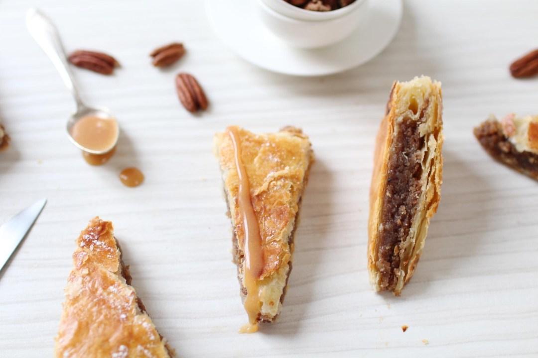 galette rois pecan vanille caramel