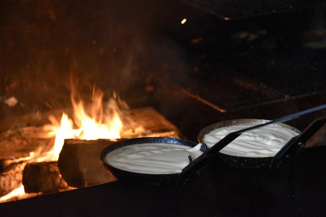 omelettes mere poulard feu de bois