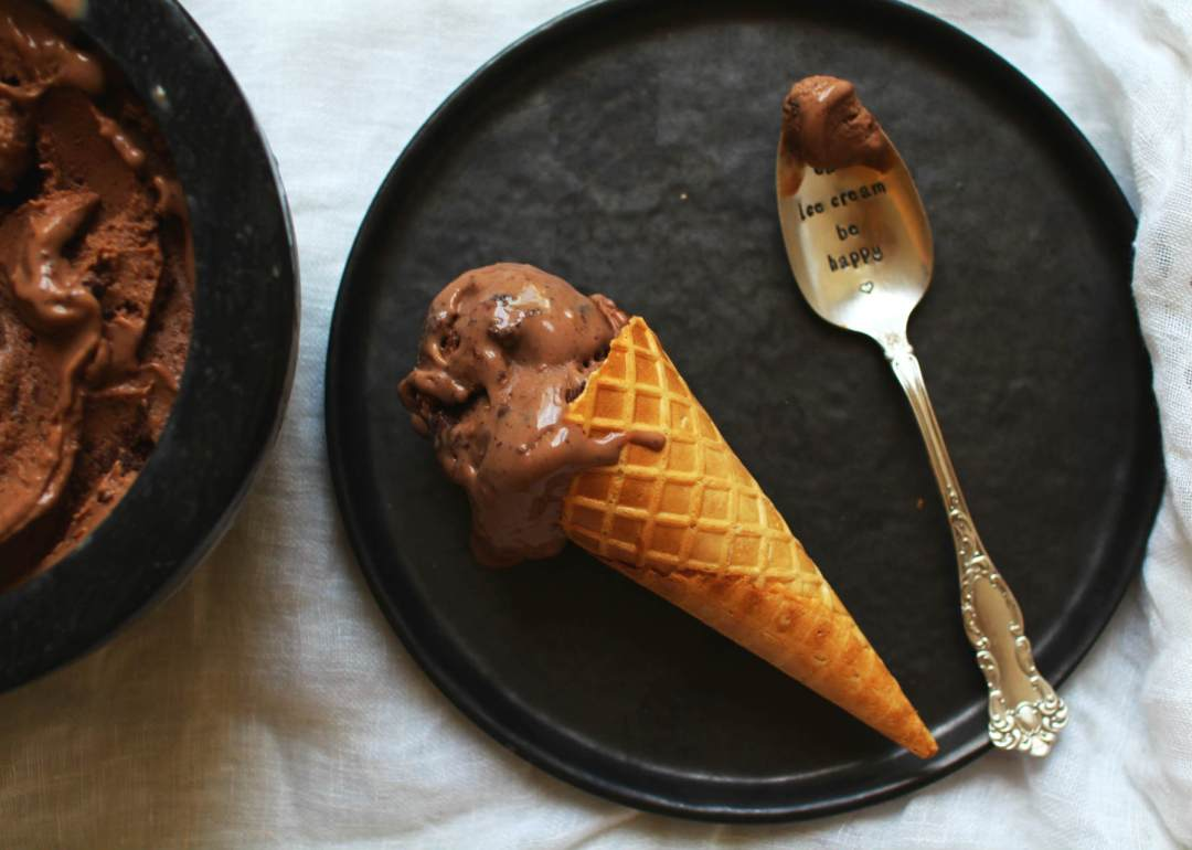 recette glace express nutella