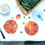 Recette de la tarte tatin aux abricots et à la mélisse