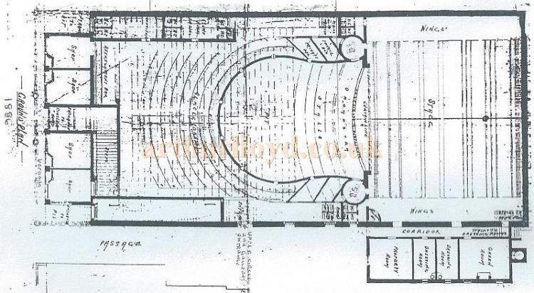 Royal Court Theatre Wigan ground plan