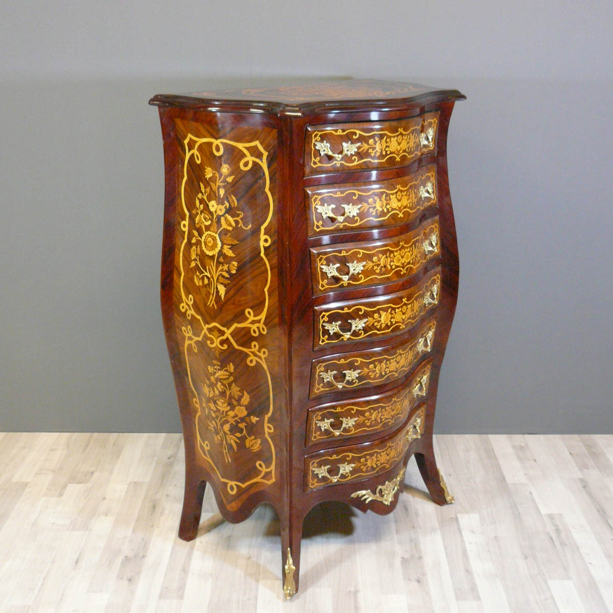 Semainier Louis XV Commode Louis XV Bureau Louis XV