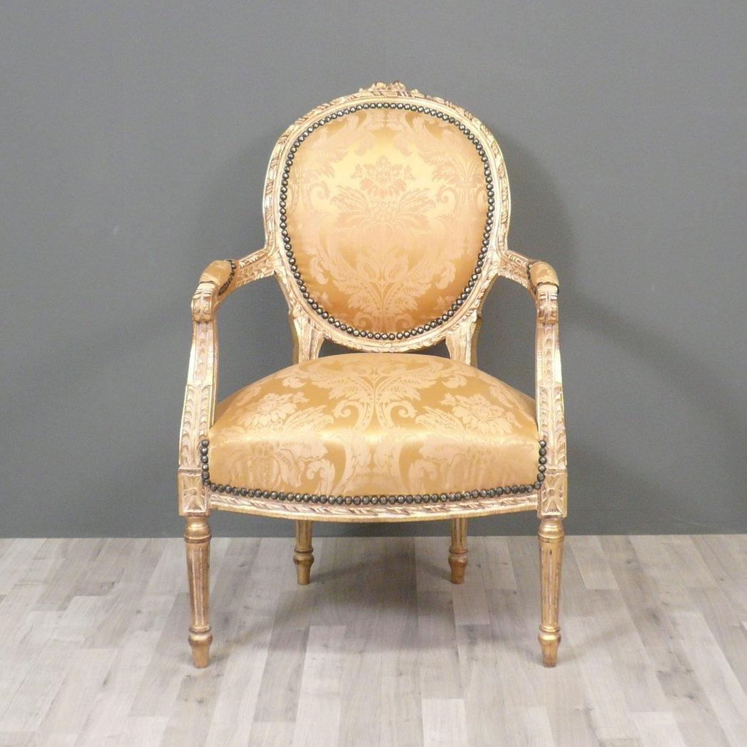 Fauteuil Louis XVI Mdaillon Fauteuils Louis XV