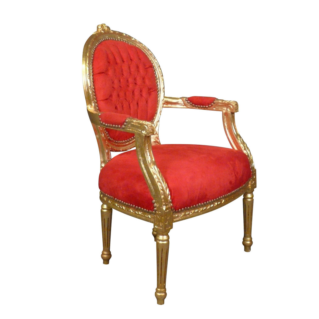 Fauteuil Louis XVI Rouge Pas Cher Meuble Louis XV