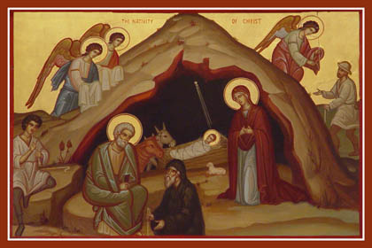 Image result for nativity icon